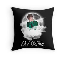 LAY ON ME Throw Pillow