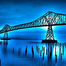 Blue Bridge by Heather Parsons