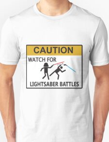 Lightsaber Battles T-Shirt