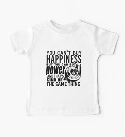 Happiness is power Baby Tee