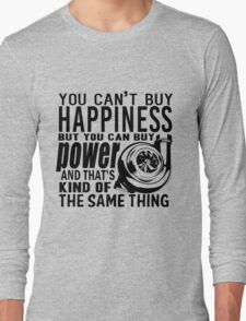 Happiness is power Long Sleeve T-Shirt