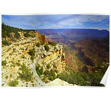 """""""Bright Angel Trail"""" Poster"""