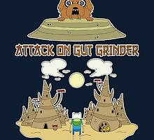 Attack on Gut Grinder by TonyLucazzy
