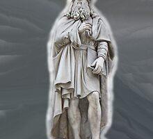 Leonardo Da Vinci by Al Bourassa