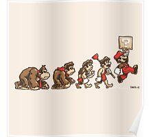 8 Bit Evolution Poster