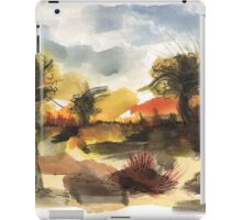 End of summer iPad Case/Skin