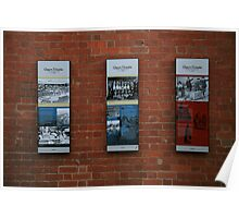 market signs. melbourne - australia Poster