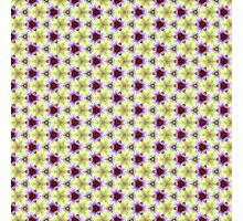 Seamless pattern the yellow-violet Photographic Print