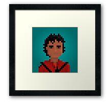 MJ80 Framed Print
