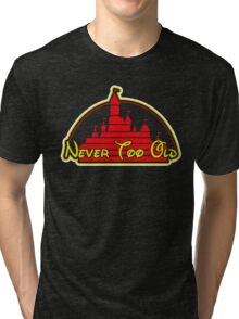 Never tool old MOUSE colors Tri-blend T-Shirt
