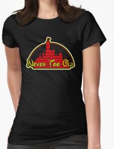 Never tool old MOUSE colors Womens Fitted T-Shirt