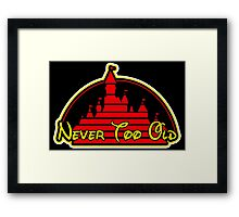 Never tool old MOUSE colors Framed Print