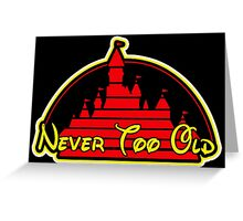 Never tool old MOUSE colors Greeting Card