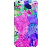 Holly hock iPhone Case/Skin