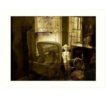 the doll room Art Print