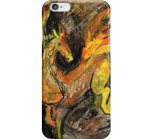 Winged horse of earth and fire iPhone Case/Skin