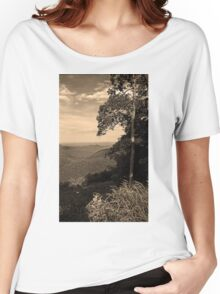 Blue Ridge Mountains, Virginia Women's Relaxed Fit T-Shirt