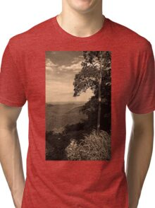 Blue Ridge Mountains, Virginia Tri-blend T-Shirt