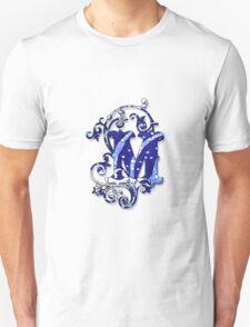 Surfin' Waves Alpha 'M' T-Shirt