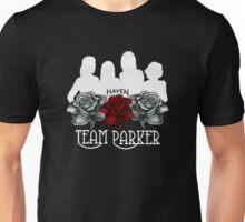 Haven Team Parker Sides Of Audrey White Logo Unisex T-Shirt