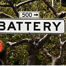 Battery  -  A World of Words by Buckwhite
