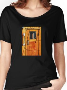 Vintage Yacht Door Women's Relaxed Fit T-Shirt