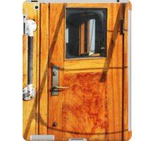 Vintage Yacht Door iPad Case/Skin