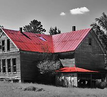 Old Red Roof School House by Chelei