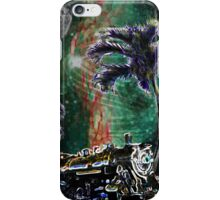 Train Stop in Paradise iPhone Case/Skin