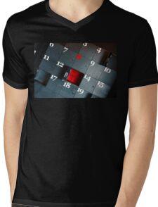Lockers Mens V-Neck T-Shirt