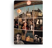 Collage Number 12 (Shop Window) Canvas Print