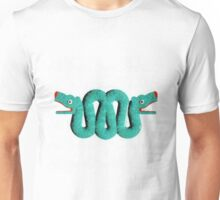 Icons - Aztec Snake by Pierre Blanchard Unisex T-Shirt