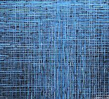 Abstract textured blue background by Atanas Bozhikov NASKO