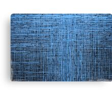 Abstract textured blue background Canvas Print