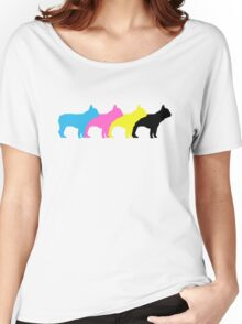 frenchie fun Women's Relaxed Fit T-Shirt