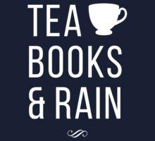 Tea Books & Rain Kids Tee