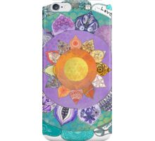 Community Mandala - Radiant Lotus Mandala iPhone Case/Skin
