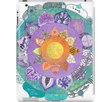 Community Mandala - Radiant Lotus Mandala iPad Case/Skin