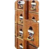 Vintage Library at Copenhagen University iPhone Case/Skin