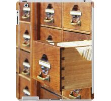 Vintage Library at Copenhagen University iPad Case/Skin