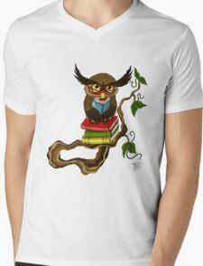 Mr. Books Mens V-Neck T-Shirt