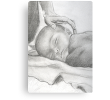 Your Baby Boy Canvas Print