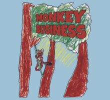 Monkey Business One Piece - Short Sleeve