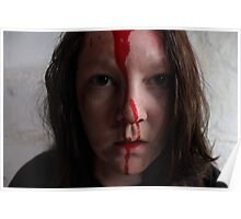 Bloody Hell Self Portrait Poster