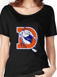 Denver Broncos logo 3 Women's Relaxed Fit T-Shirt