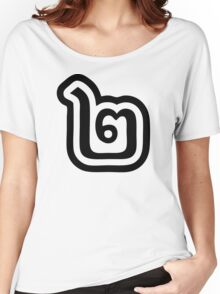 Thailand Number 2 / Two / ๒ (Song) Thai Language Script Women's Relaxed Fit T-Shirt
