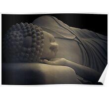 Buddha Entering Nirvana - Pho-Da Temple Garden - Memphis, Tennessee Poster