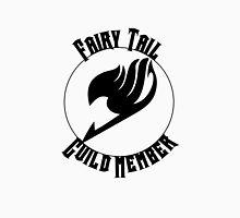 Fairy Tail Guild Member- Black Text Unisex T-Shirt