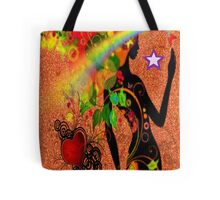 Rainbow chaser Tote Bag