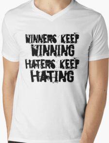 Winners vs. Haters Mens V-Neck T-Shirt